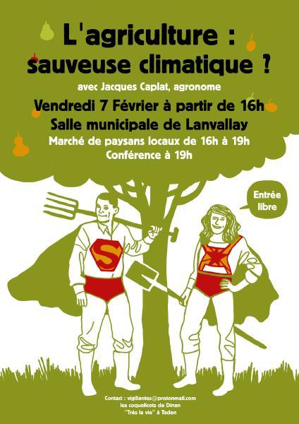 image Apéro conférence : L'agriculture, sauveuse climatique ?